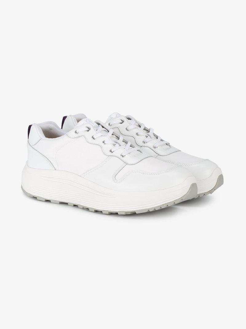 Eytys Jet Combo Low-top Sneakers In White