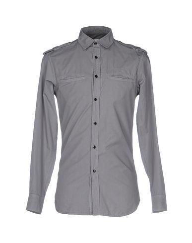 Pierre Balmain Striped Shirt In Grey
