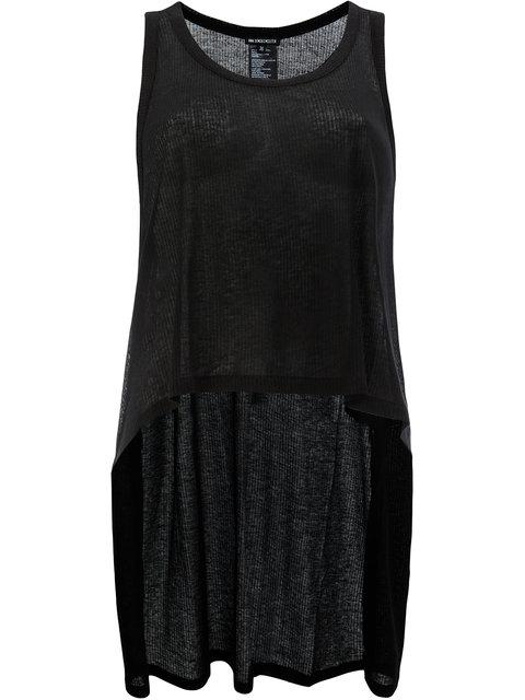 Ann Demeulemeester High Low Hem Top