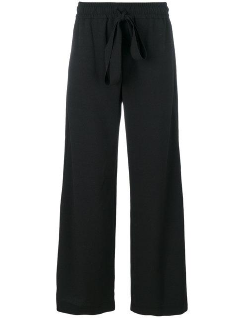 See By ChloÉ Drawstring Wide Trousers - Black