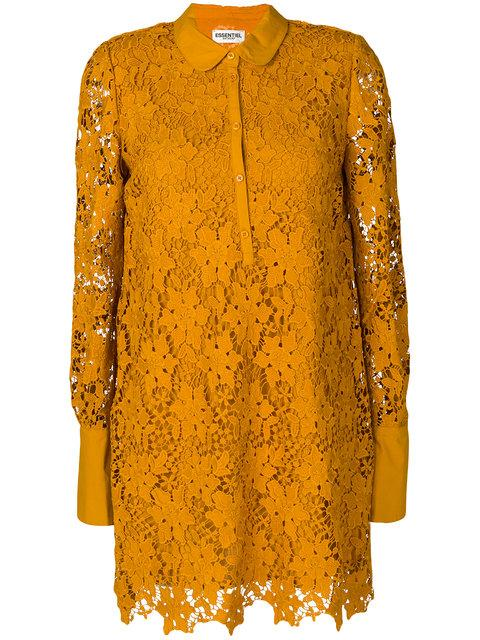 Essentiel Antwerp Lace Embroidered Dress