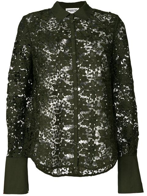 Essentiel Antwerp Lace Embroidered Blouse