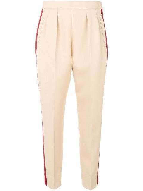 Maison Margiela Side Stripe Tapered Trousers