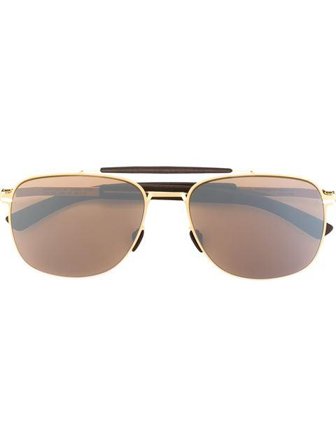 Mykita 'elon' Sunglasses In Brown