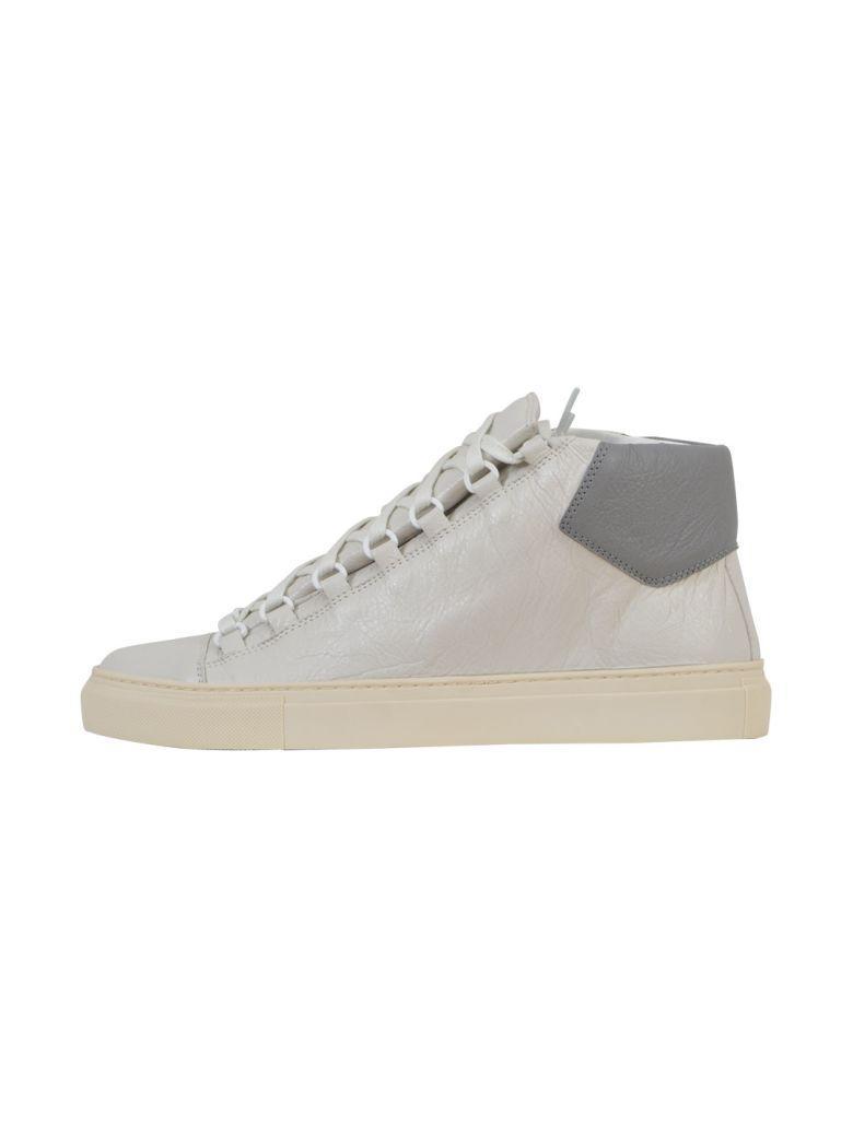 Balenciaga Two-coloured Sneaker In White-grey
