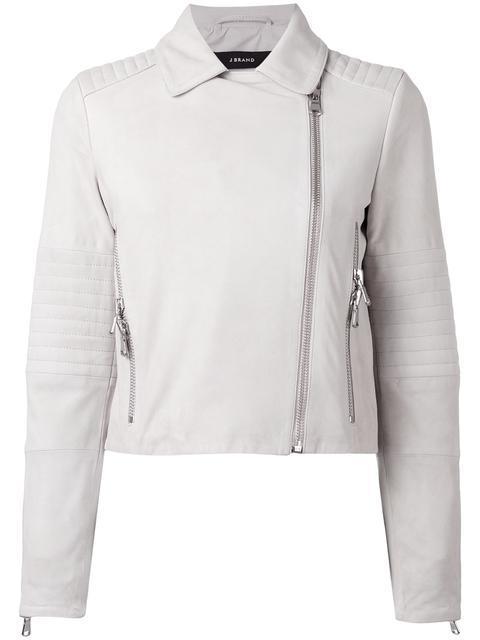 J Brand Zipped Biker Jacket