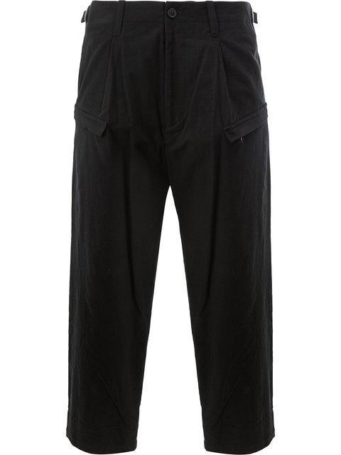 Yohji Yamamoto Drop Crotch Trousers