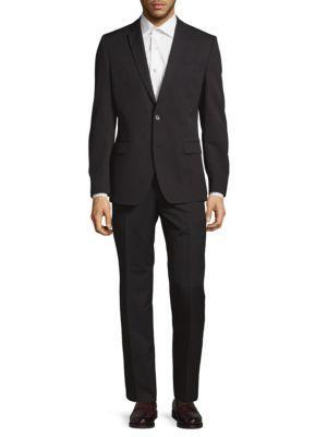 Brunello Cucinelli 2-Piece Wool Pinstripe Suit In Grey