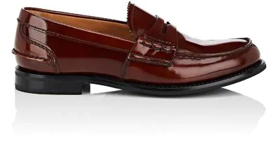 d1040c64b3f Church s Pembrey Spazzolato Leather Penny Loafers In Brown