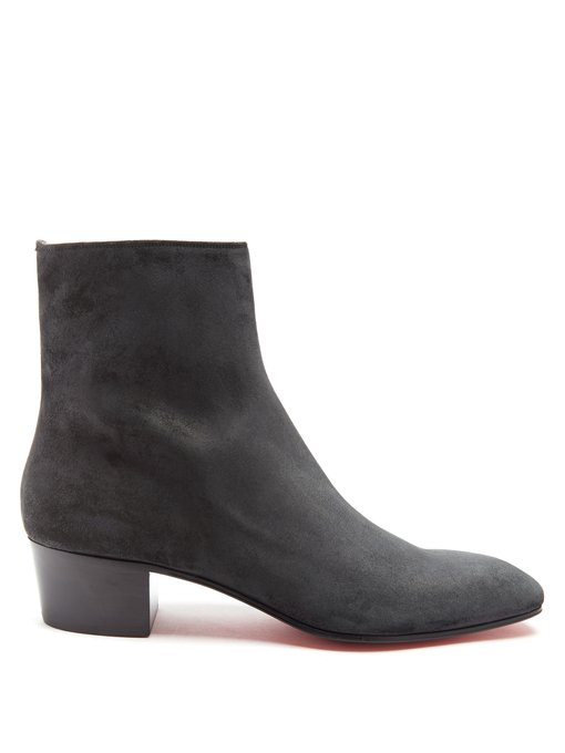 the latest 5adc0 2f942 Hustington 40 Black Suede Boots