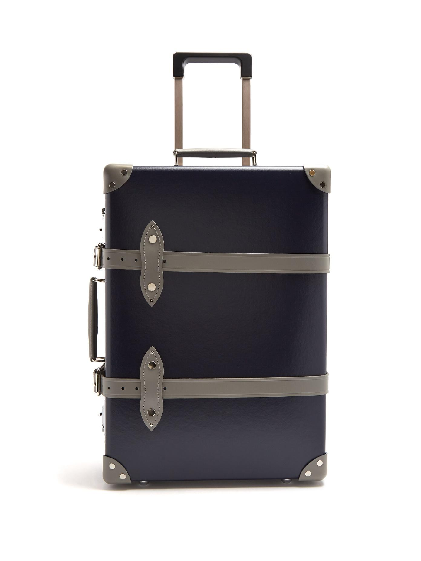 c166f9375 Globe-Trotter X Matchesfashion.Com Centenary 20 Cabin Suitcase In Navy Multi