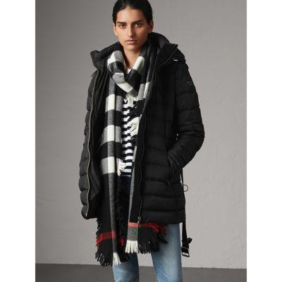 e558229fc2c31a Burberry Detachable Hooded Down-Filled Puffer Coat In Black | ModeSens