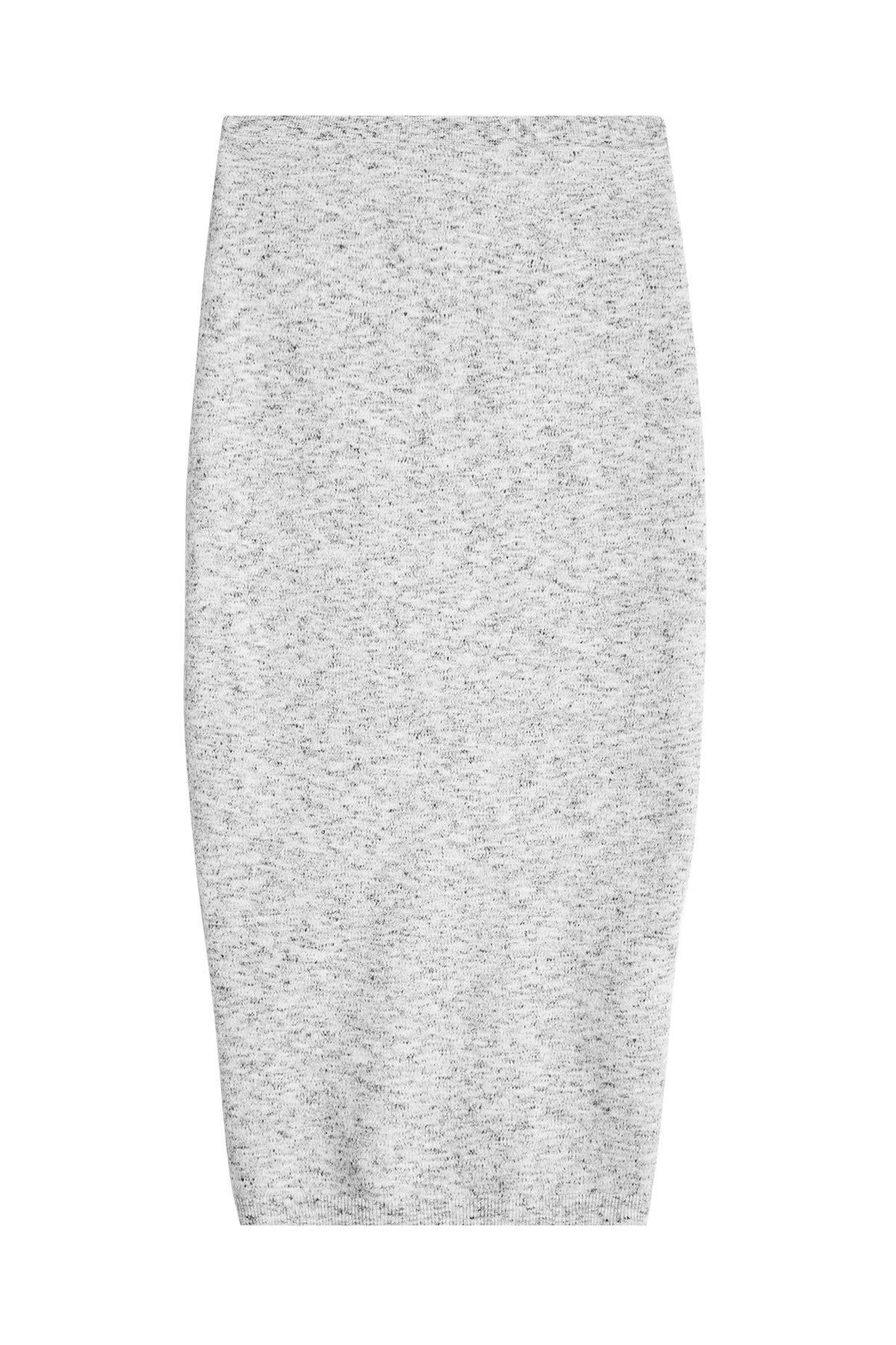 Victoria Beckham Pencil Skirt With Virgin Wool And Alpaca In Multicolored