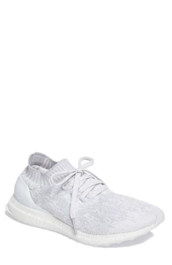 check out d0c62 b489b Adidas Men's Ultra Boost Uncaged Running Sneakers From Finish Line in  White/ White/ Crystal White