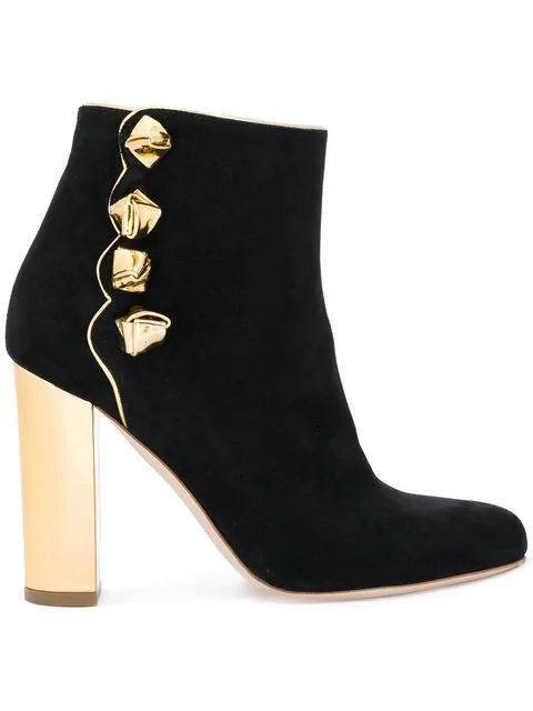 Malone Souliers Effie Suede Boots In Black