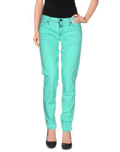 7 For All Mankind Casual Pants In Green