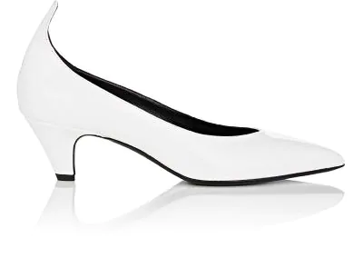 f111b52d7ae Calvin Klein 205W39Nyc Patent Leather Pumps In White