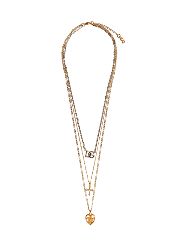 Dolce & Gabbana Metal Necklace In Gold