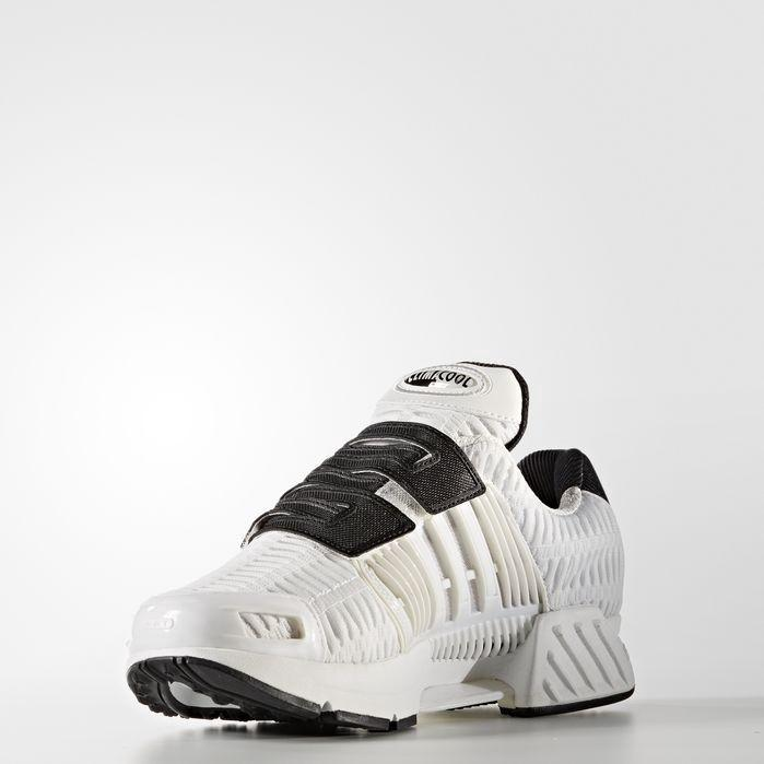 Climacool 1 Laceless Shoes In Vintage White/vintage White/core Black