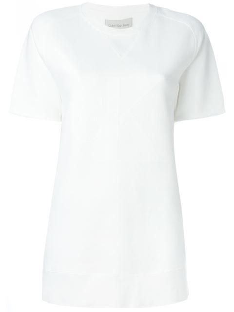 Calvin Klein Jeans Ck Jeans Logo Print T-Shirt - White