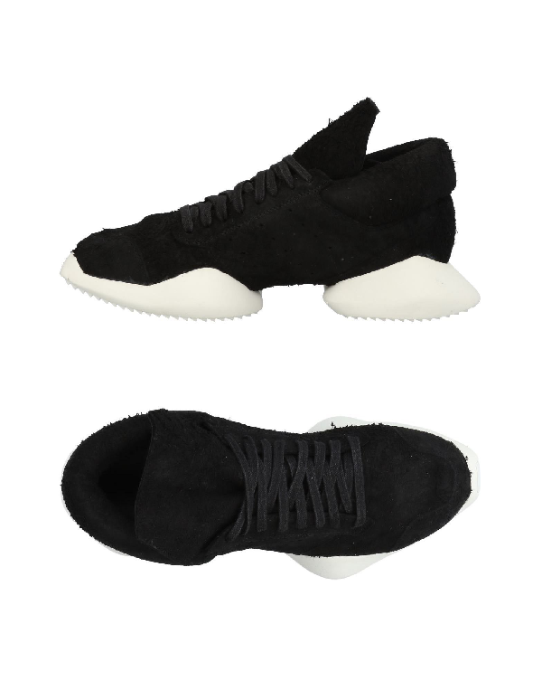 timeless design 0711e d8454 Rick Owens X Adidas Vicious Runner Soft Sneakers in Black