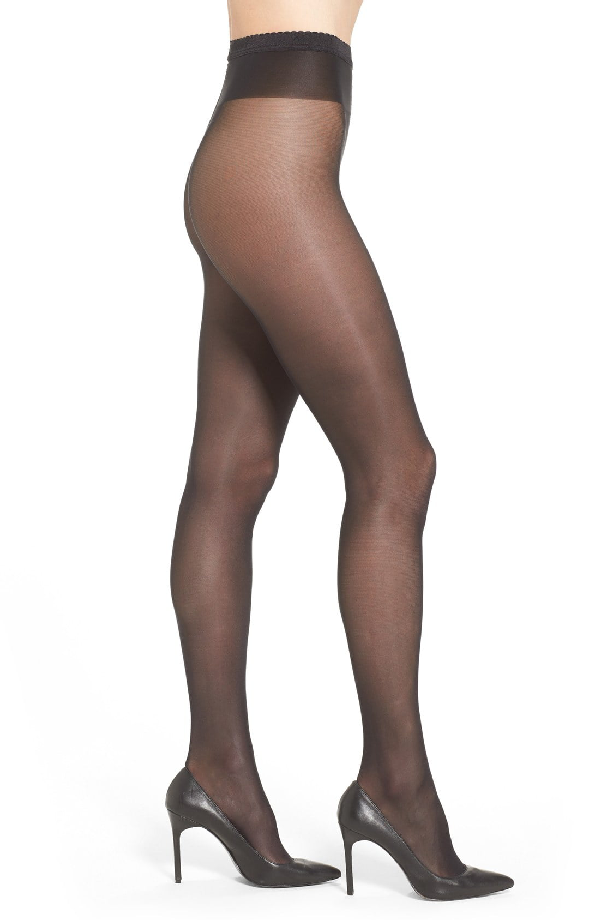 ed93375d831 Wolford Neon 40 Glossy Tights In Black