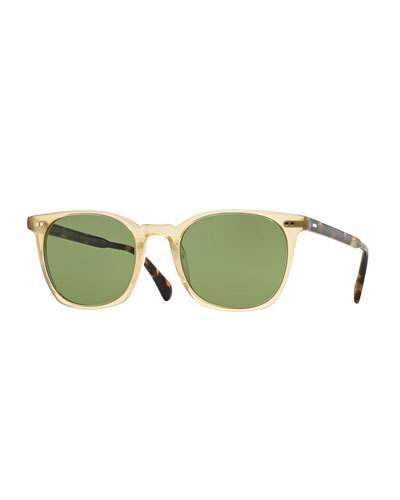 ab0f35d930 Oliver Peoples Heaton Square Acetate Sunglasses