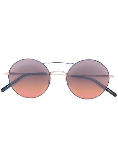 Oliver Peoples 'nickol' Round Frame Sunglasses