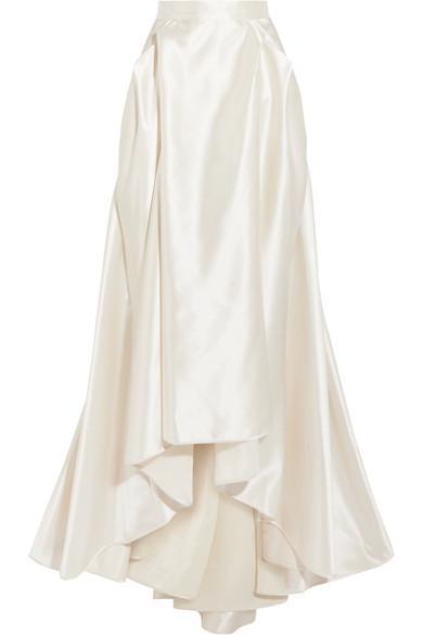 e53feb2f0a Halfpenny London Georgie Pleated Satin Maxi Skirt | ModeSens
