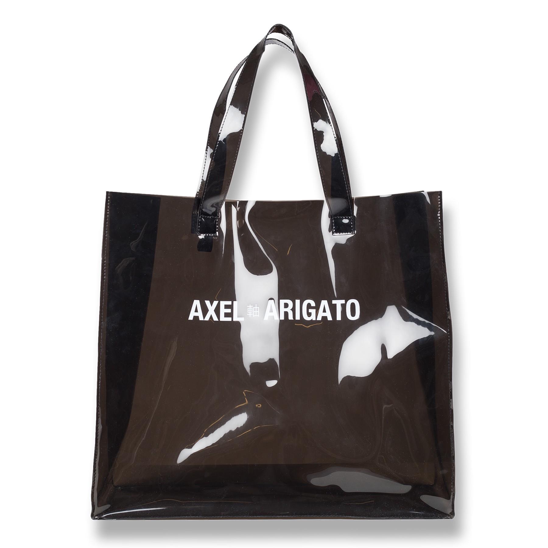 bafc206e97 Axel Arigato Clear Grocery Tote Bag - Clear Black Vinyl