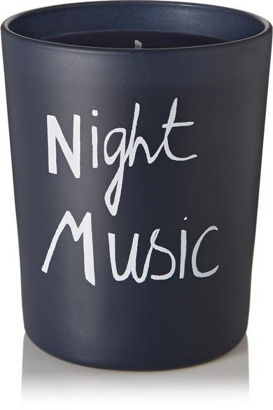 Bella Freud Parfum Night Music Scented Candle, 190g In Blue