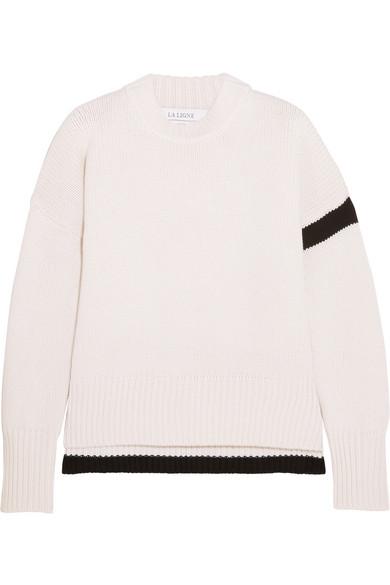 La Ligne Varsity Striped Cashmere Sweater