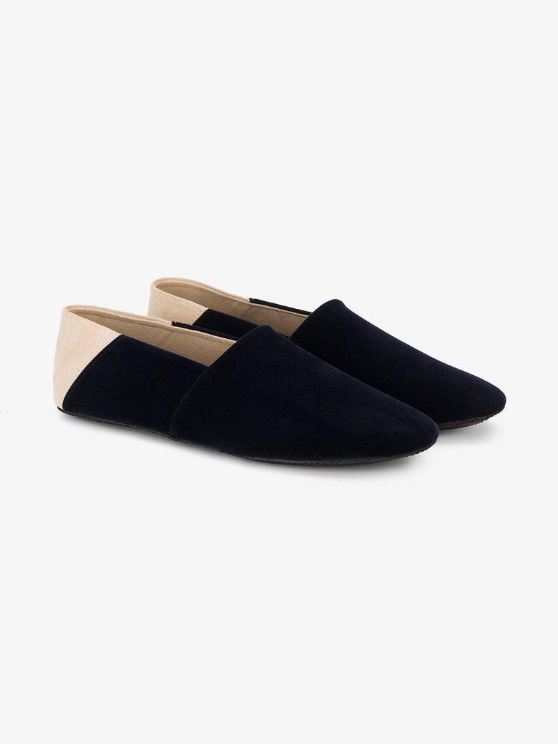 Newbark Jacks Slip On Loafers In Blue