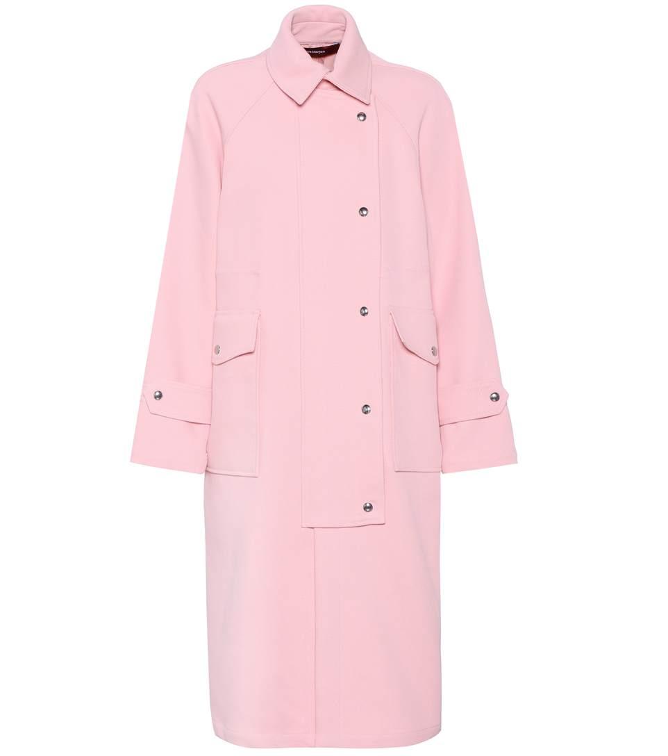 Sies Marjan Cotton-blend Coat In Pekpe