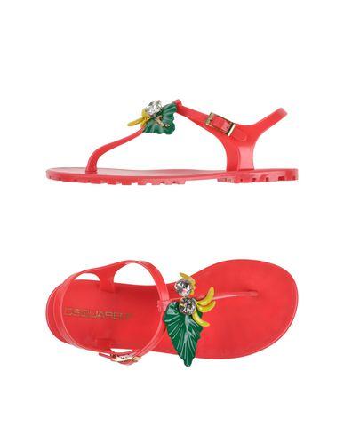 Dsquared2 Flip Flops & Clog Sandals In Fuchsia