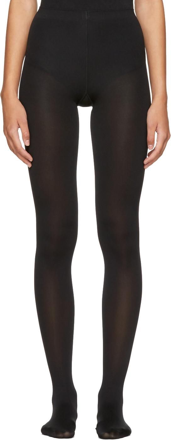 Wolford Black Mat Opaque 80 Tights In 7005 Black