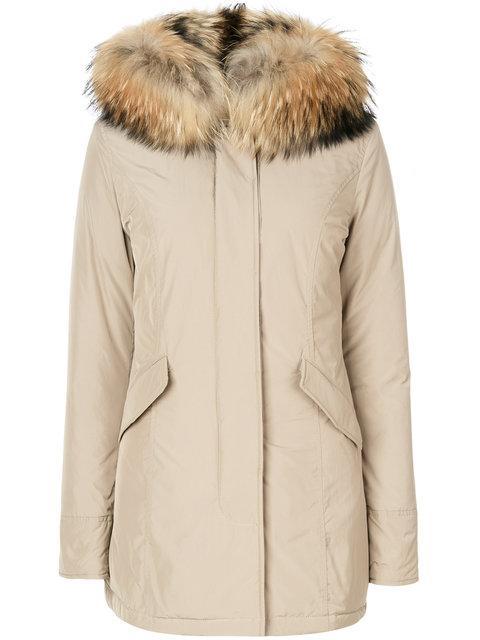 Woolrich Luxury Arctic Parka Coat - Neutrals