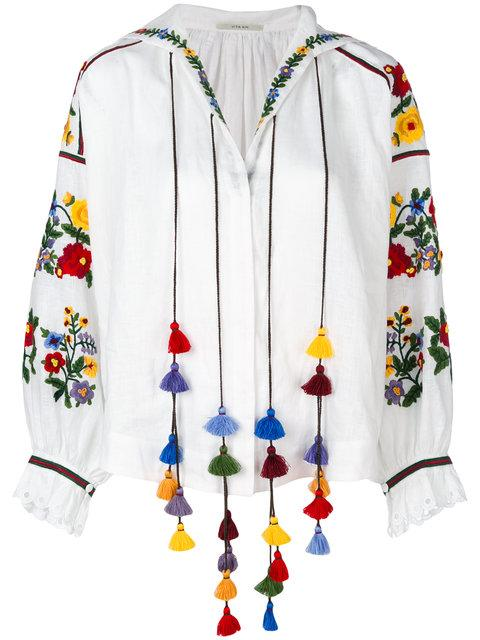 Vita Kin Embroidered Blouse