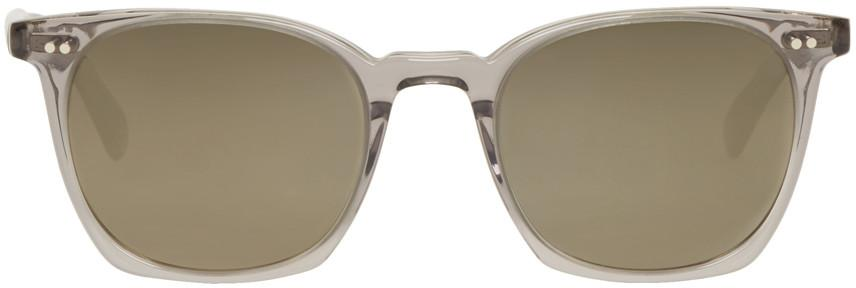 Oliver Peoples Grey La Coen Sun Workman Sunglasses