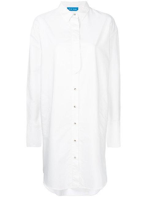 M.i.h Jeans Triangle Shirt Dress