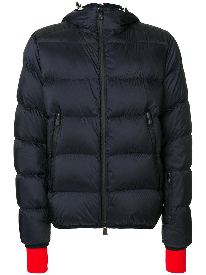 Moncler Grenoble Contrast Cuff Padded Jacket