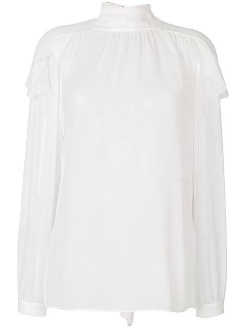Dorothee Schumacher Roll Neck Blouse In White