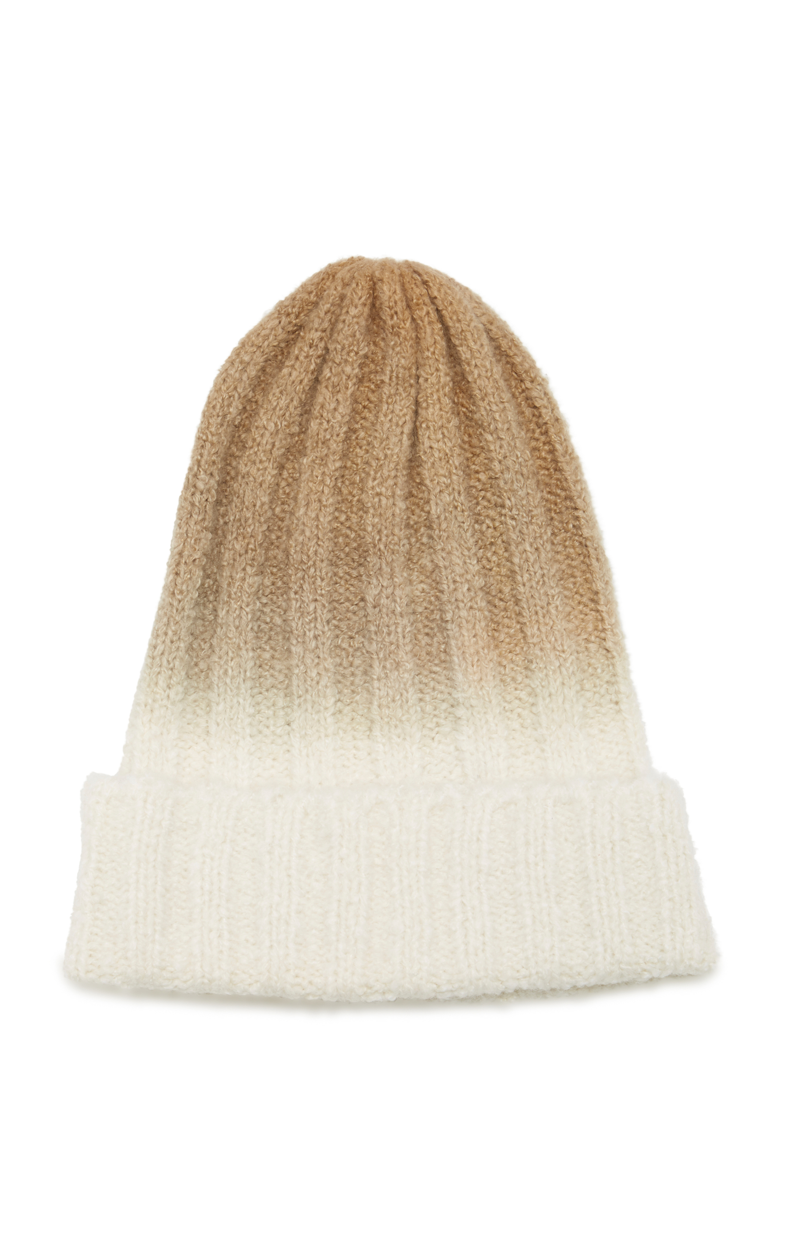 The Elder Statesman Iggy Cashmere Beanie In Neutral