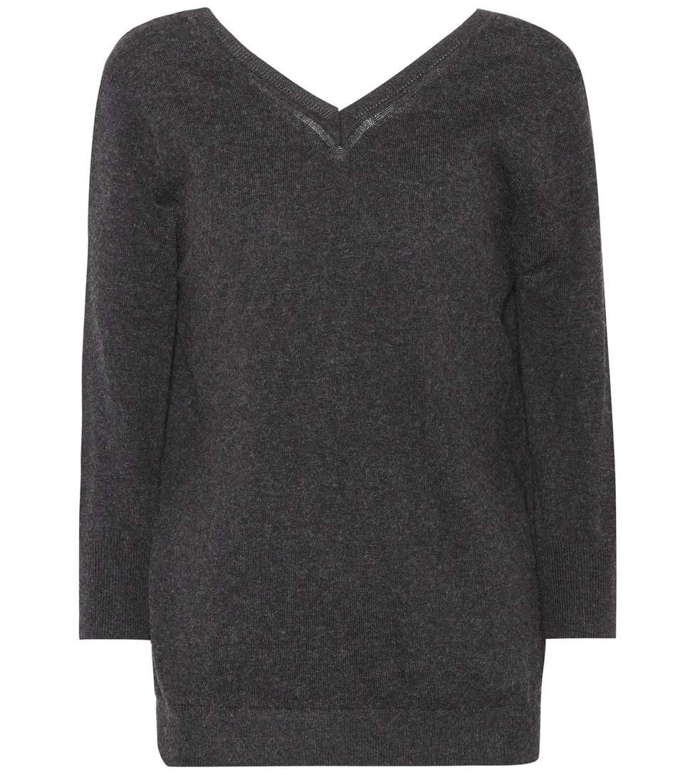 Etoile Isabel Marant Kizzy Cotton And Wool Sweater In Aethracite