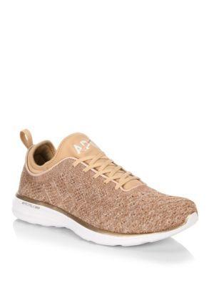 Apl Athletic Propulsion Labs Techloom Phantom Sneakers In Rose Gold