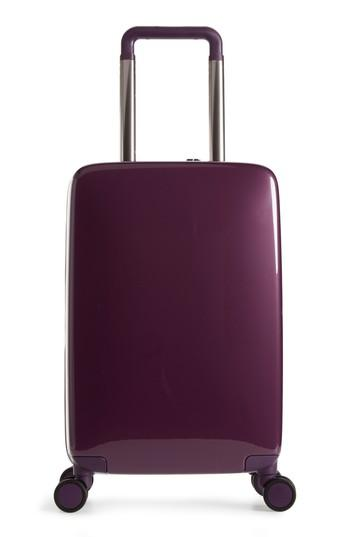 Raden The A22 22-inch Charging Wheeled Carry-on - Purple In Shadow Purple Gloss