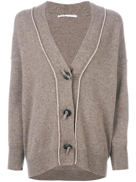 Agnona Button Detail Cardigan