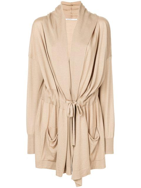Agnona Belted Cardigan - Neutrals