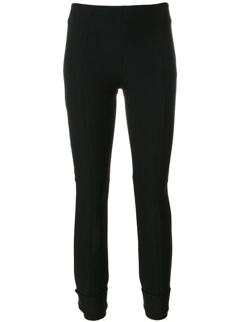 Dorothee Schumacher Stitch Detail Cropped Trousers - Black