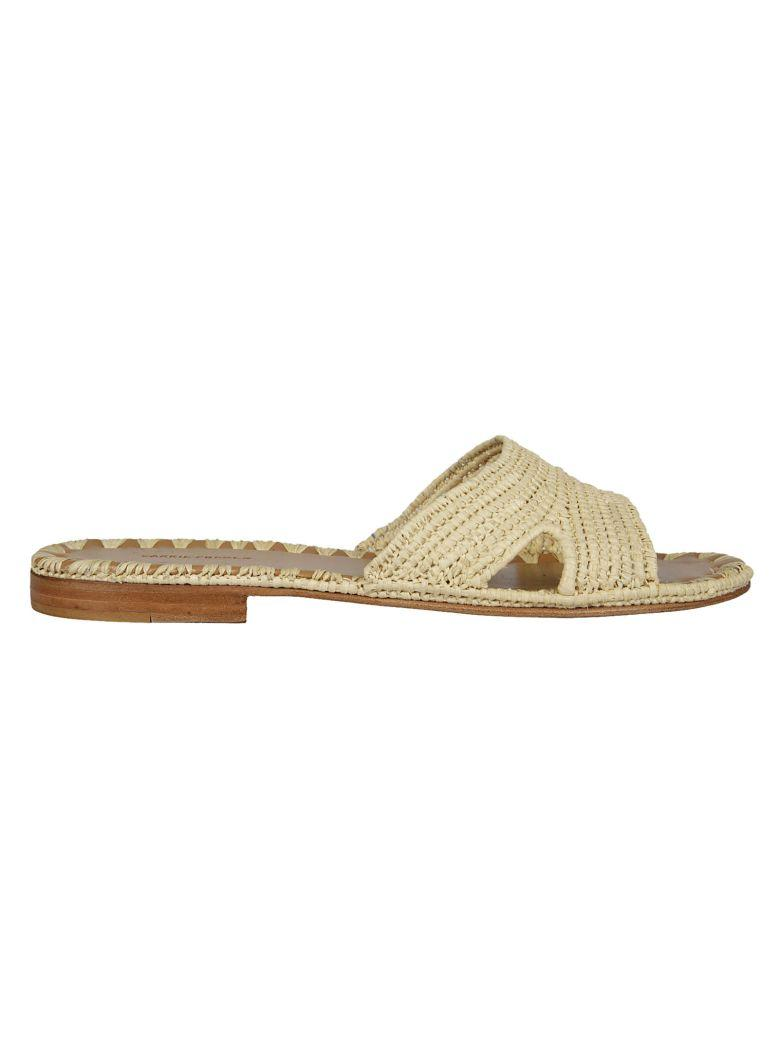 Carrie Forbes Fati Flat Sandals In Natural